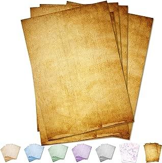 Partycards Papel de Escribir | 50 Hojas |Marrón|Formato DIN A4 (21,0 x 29,7 cm)|Gramaje 90 g/m² |impresión a Doble Cara, Adecuada para Todas Las impresoras