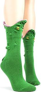 Foot Traffic, Women`s 3D Socks, Fits Women`s Shoe Sizes 4-10
