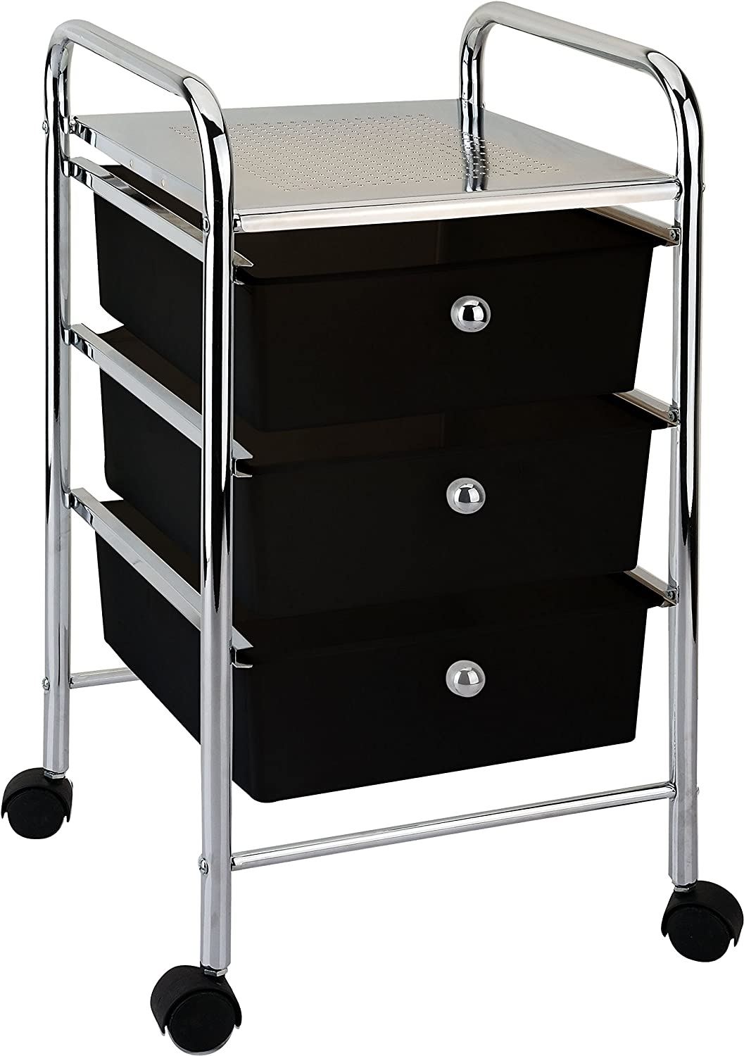 3-Drawer Organizer w Casters Mobile 2