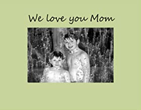 Infusion Gifts 9008-SO We Love You Mom Photo Frame, Small, Oyster
