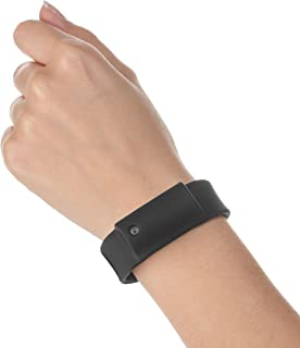 Little Viper Pepper Spray Bracelet, Adjustable Silicone Band, Lightweight, Discreet and Easy Access for Quick Response to Attack, Contains 3-6 Bursts of 10% OC