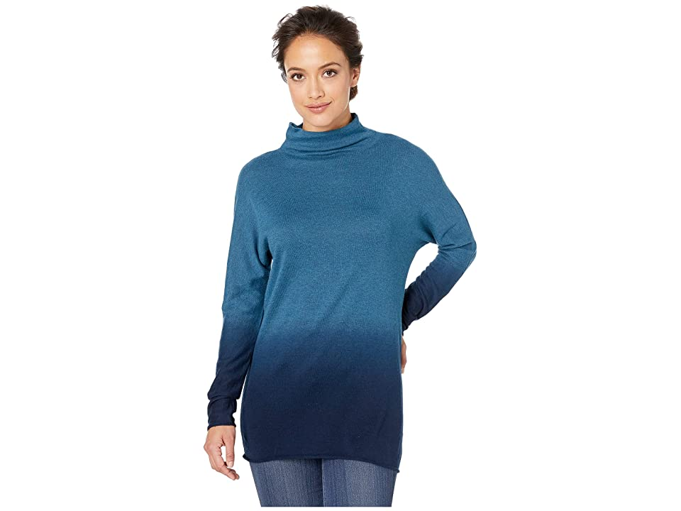 NIC+ZOE Traveler Turtleneck (Beryl) Women