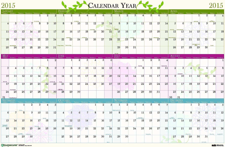 House of Doolittle 3984 Blaumenkalender, 24 x 37, 2015 B00K23DJ6W   Shopping Online