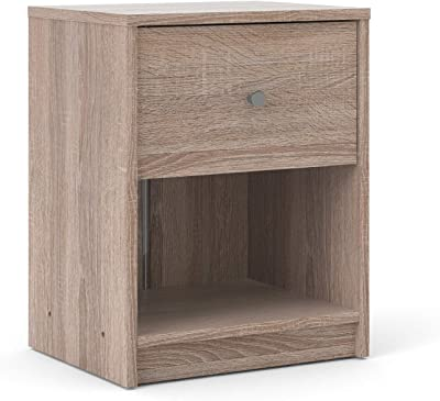 Tvilum 1 Drawer Nightstand, Truffle