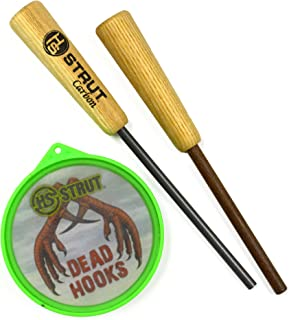 Hunters Specialties H.S. Strut Dead Hooks Glass Pan Turkey Call