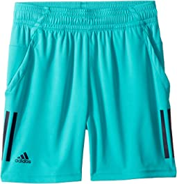 Tennis 3-Stripes Club Shorts (Little Kids/Big Kids)