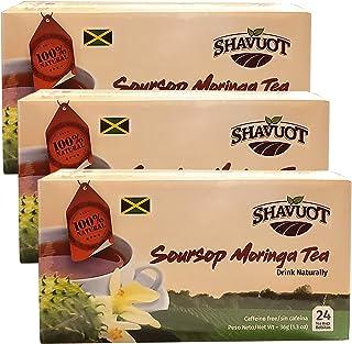 Shavuot Soursop Moringa Tea (Pack of 3)
