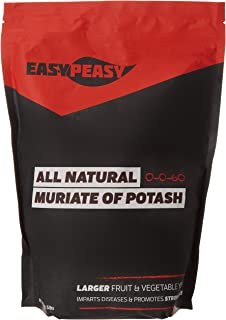 All-Natural Muriate of Potash- Easy Peasy 0-0-60 Potassium (5LB Bag)