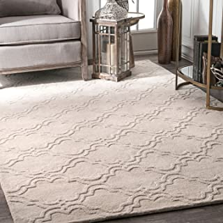 nuLOOM Wilhelmina Hand Tufted Wool Rug, 7' 6