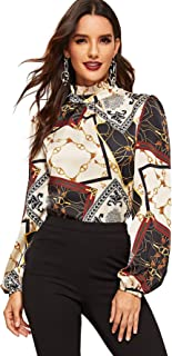 Best chain printed blouse Reviews
