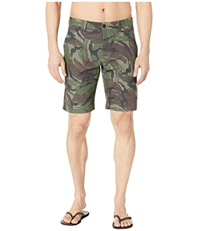 RVCA Balanced Hybrid Shorts (Camo) Men