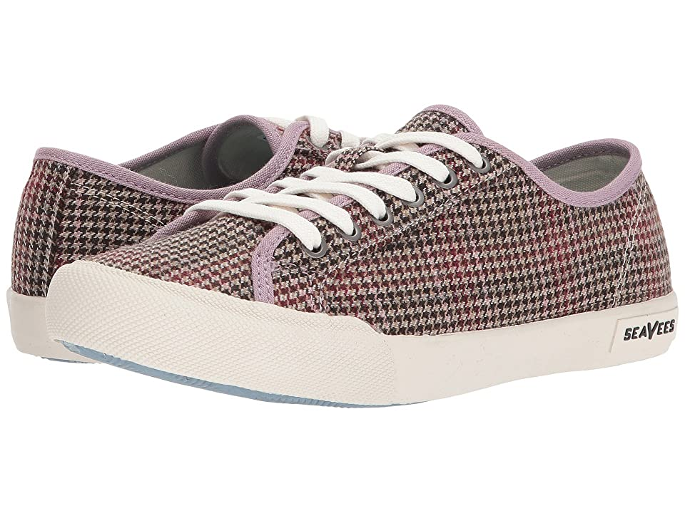 SeaVees Monterey Sneaker Wintertide (Pink/Dark Earth Harris Plaid) Women