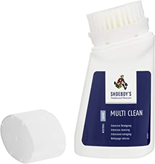 Shoeboy's Multi Clean/Shoe Cleaner w Built-in Brush / 2.5oz Care Product, 2.5 Oz