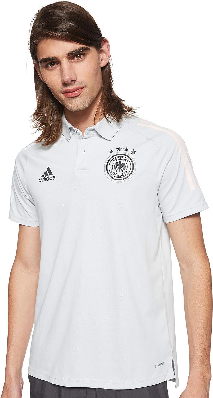 adidas Germany Light Grey Polo Shirt