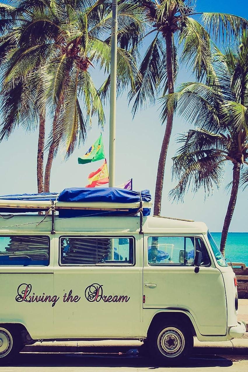 甥あえぎライバルLiving the Dream: Campervan design undated weekly planner