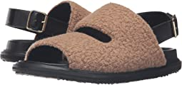 Wool Jersey Furry Stitch Sandal