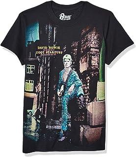 Liquid Blue Men's David Bowie Ziggy Stardust Short Sleeve T-Shirt