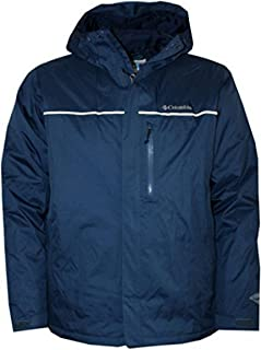 Columbia Men's Rainy Pass Hooded Omni Tech Winter Jacket