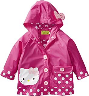 Western Chief Girls' Hello Kitty Lined Rain Jacket
