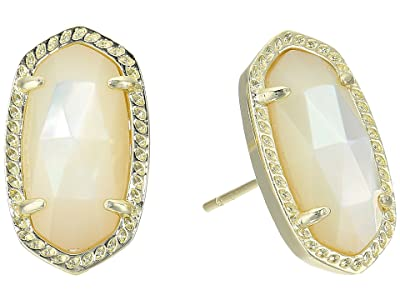 Kendra Scott Ellie Earring (Gold/Ivory Mother of Pearl) Earring