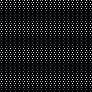 American Crafts Black Core'dinations 12 Pack of 12 x 12 Inch Patterned Paper Small Dot