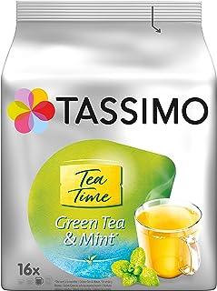 Tassimo Kapseln Tea Time Grüner Tee mit Minze, 5er Pack 5 x 16 Getränke