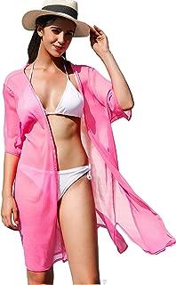 Best pink mesh kimono Reviews