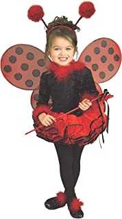 Rubies girls Childs Costume, Lady Bug Tutu Costume, One Color, Toddler
