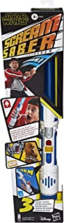 Star Wars Scream Saber Lightsaber Toy, Record Your Own Inventive Lightsaber Sounds & Pretend to Battle, for Kids Roleplay Ages 4 & Up