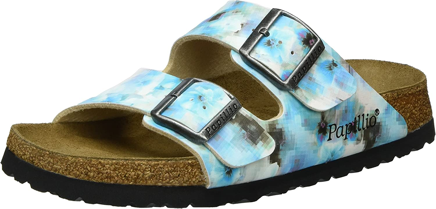 Arizona Birko-Flor Soft Footbed Pixel bluee
