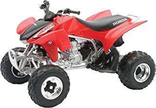 New Ray Toys Die-Cast TRX450R ATV (1:12 Scale) (Red)