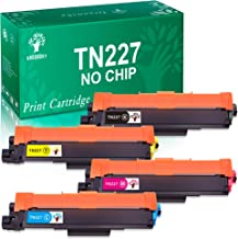 GREENSKY (No Chip) Compatible Toner Cartridge Replacement for Brother TN-227 TN227 TN223 for MFC-L3710CW MFC-L3750CDW HL-L3290CDW HL-L3210CW HL-L3230CDW HL-L3270CDW MFC-L3770CDW - 4 Pack