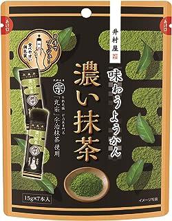 井村屋 味わうようかん 濃い抹茶 7本 ×8袋