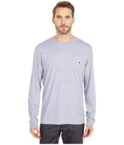 Burton Colfax Long Sleeve T-Shirt (Gray Heather) Clothing