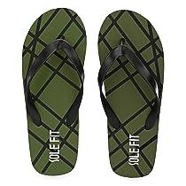 [Size 7] Solefit Black Flip-Flops