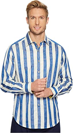 Robert Graham Surfin' USA Long Sleeve Woven Shirt
