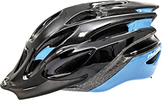 RALEIGH Mission Evo Helmet - Black/Blue - Medium (54-58cm)