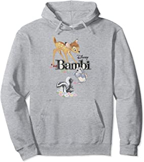Disney Bambi Thumper & Flower Logo Sweat à Capuche