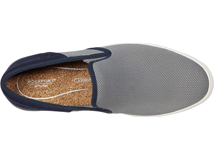 Rockport Colle Slip-on Mesh Grey Multi Sneakers & Athletic Shoes