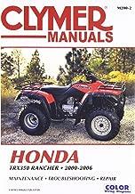 Clymer 00-06 Honda TRX350R4ES Service Manual