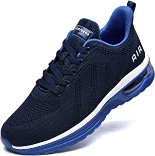 Men Air Running Shoes-Comfort Athletic Tennis Casual Sport Sneakers for Walking Gym