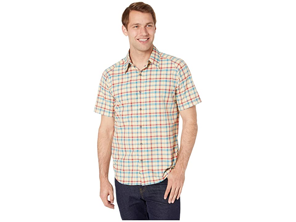 Marmot Agrozonda Short Sleeve Shirt (Aztec Gold) Men