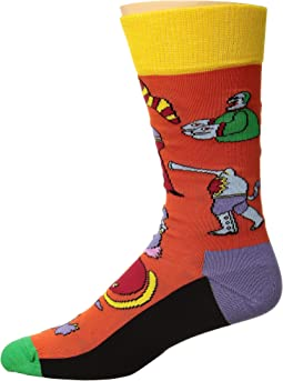 Beatles Monsters Sock