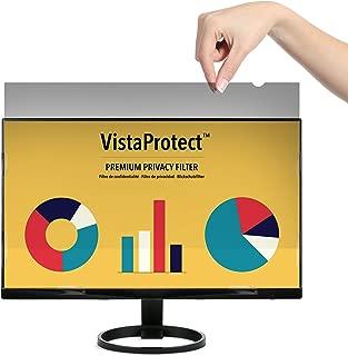 VistaProtect: filtro de privacidad premium, filtro de pantalla de privacidad, protector de pantalla para computadora y monitor (20,1 pulgadas)