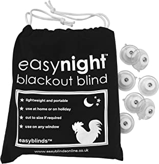 Easynight Portable Travel Blackout Blind (Large 78