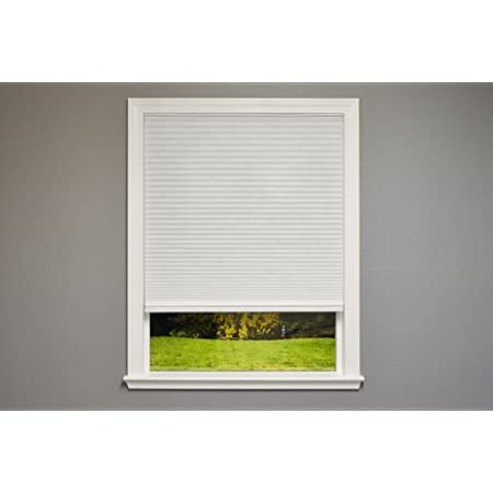 Amazon Com Bali Blinds Cordless Light Filtering Cellular Shade 27 X 64 White 044294 214033 Home Kitchen