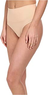 SPANX Women's Everyday Shaping Panties Seamless Thong