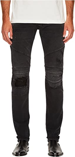 Pierre Balmain - Distressed Panelled Jeans