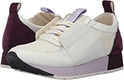 White/Purple Leather