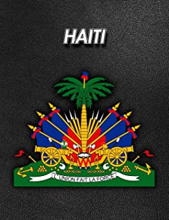 Haiti: Coat of Arms - 2020 Weekly Calendar - 12 Months - 107 pages 8.5 x 11 in. - Planner - Diary - Organizer - Agenda - A...
